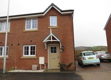 Thumbnail 2 bed semi-detached house for sale in Highfields, Tonyrefail, Tonyrefail