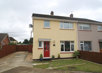 Thumbnail 3 bed semi-detached house for sale in Thurston, Bury St Edmunds, Suffolk