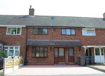 Thumbnail 3 bed terraced house to rent in Abbess Grove, Yardley, Birmingham