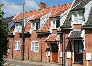 Thumbnail 3 bed terraced house to rent in Mendham Lane, Harleston, Norfolk