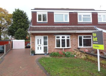 Thumbnail 3 bed semi-detached house to rent in Brookfield, Bayston Hill, Shrewsbury