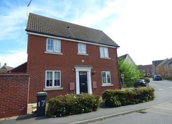 Thumbnail 3 bedroom detached house to rent in Goosander Road, Stowmarket