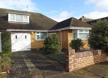 Thumbnail 4 bed bungalow for sale in 18 Judith Drive, Evington, Leicester