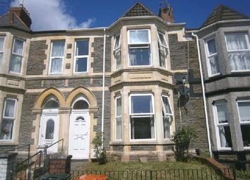 Thumbnail 4 bed terraced house for sale in Risca Road, Newport, Gwent.