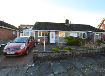 Thumbnail 2 bed semi-detached bungalow for sale in Summerfield Drive, Llantrisant, Pontyclun