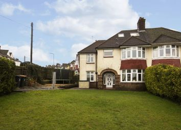 Thumbnail 4 bed semi-detached house for sale in Beaufort Road, Newport