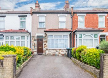 Thumbnail 3 bed terraced house for sale in Wellington Road, Bush Hill Park, Enfield