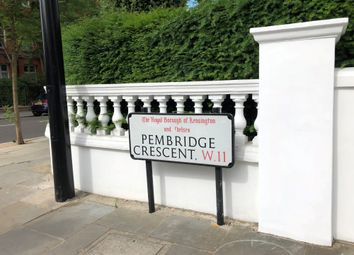 Thumbnail 2 bed flat for sale in Pembridge Crescent, London