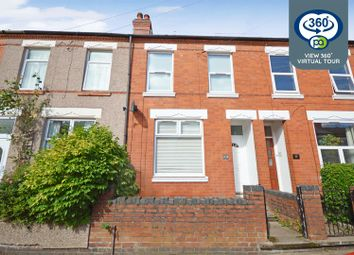 Thumbnail 3 bed terraced house for sale in Ludlow Road, Earlsdon, Coventry