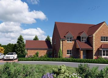 Thumbnail 4 bed detached house for sale in Messingham Lane, Scawby, Brigg