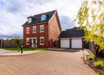 Thumbnail 5 bed detached house for sale in Naylor Crescent, Nantwich