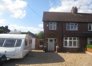 Thumbnail 3 bed semi-detached house for sale in Stock Lane, Wybunbury, Nantwich