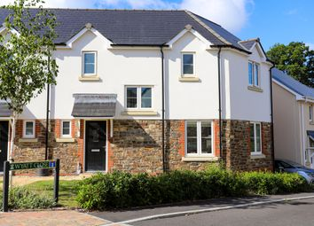 Thumbnail 3 bed semi-detached house for sale in Wyatt Close, Bovey Tracey, Newton Abbot