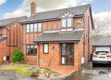 Thumbnail 4 bed detached house for sale in Ribchester Gardens, Culcheth, Warrington, Cheshire.