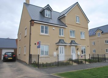 Thumbnail 3 bed semi-detached house for sale in Vale Road, Bishops Cleeve, Cheltenham