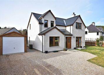 Thumbnail 4 bedroom detached house for sale in School Gardens, Dulnain Bridge, Grantown-On-Spey