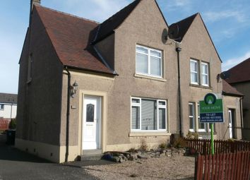 Thumbnail 2 bed semi-detached house to rent in Linden Avenue, Stirling