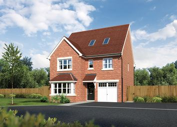 "Thumbnail 5 bed detached house for sale in ""Longford"" At Sherbourne Avenue, Chester CH4, Chester,"