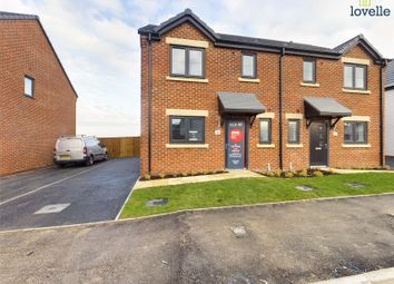 Thumbnail 3 bed semi-detached house for sale in Plot 64, Ingleby View, Saxilby, Lincolnshire