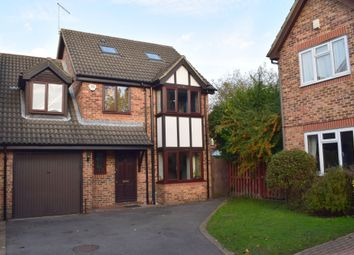 Thumbnail 5 bed detached house for sale in Tamworth Drive, Fleet