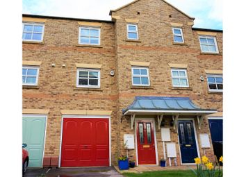Thumbnail 3 bed terraced house for sale in Somme Close, Lincoln