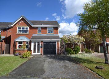 Thumbnail 4 bed detached house for sale in Farmleigh Gardens, Great Sankey, Warrington