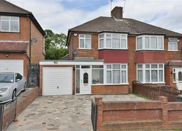 Thumbnail 3 bedroom semi-detached house for sale in Merryhills Drive, Enfield