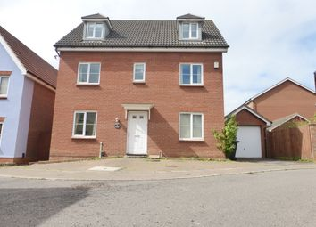 Thumbnail 7 bed detached house for sale in Horn Pie Road, Norwich