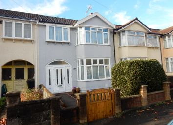 Thumbnail 3 bed terraced house for sale in Ravenhill Road, Knowle, Bristol