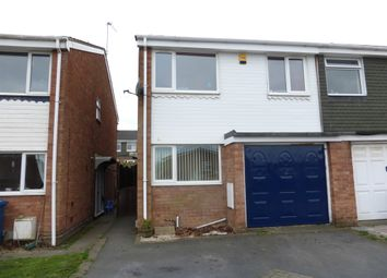 Thumbnail 4 bed semi-detached house for sale in Redlake, Wilnecote, Tamworth