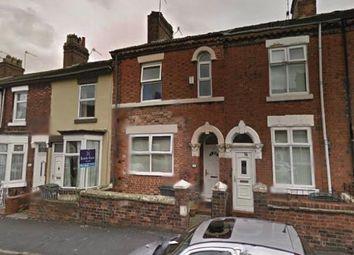 Thumbnail 3 bed terraced house for sale in Grove Street, Burslem, Stoke-On-Trent