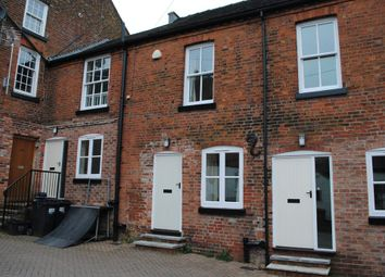 Thumbnail 1 bedroom terraced house to rent in Old George Mews, Market Drayton, Shropshire