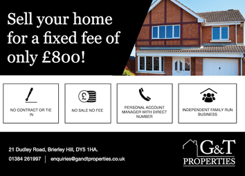 Thumbnail 3 bed semi-detached house for sale in Cradley Heath, West Midlands