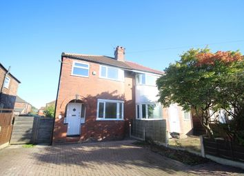 Thumbnail 3 bed semi-detached house to rent in Riverton Road, Didsbury, Manchester