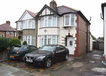 Thumbnail 3 bed semi-detached house to rent in Lincoln Close, Greenford