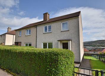Thumbnail 3 bed semi-detached house for sale in Pembroke Road, Greenock