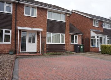 Thumbnail 3 bed semi-detached house to rent in Wilmington Court, Loughborough