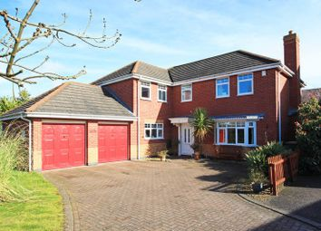 Thumbnail 5 bedroom detached house for sale in Holt Coppice, Bratton, Telford