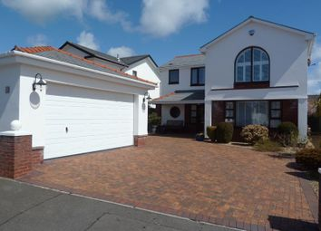 Thumbnail 4 bedroom detached house for sale in Lower Farm Court, Rhoose, Barry