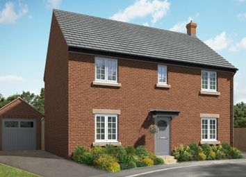 "Thumbnail 4 bed detached house for sale in ""The Helpston"" at Hill Top Close, Market Harborough"