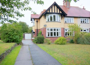 Thumbnail 4 bed semi-detached house for sale in Manton Villas, Worksop