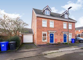 3 bed semi-detached house for sale in Charnos Street, Ilkeston, Derbyshire DE7