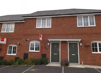 Thumbnail 2 bed terraced house for sale in Bessemer Way, Crewe, Cheshire