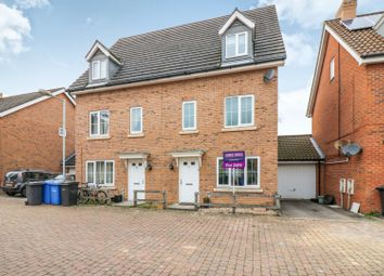 Thumbnail 4 bed semi-detached house for sale in Whistlefish Court, Norwich