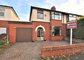 3 bed semi-detached house for sale in Cadley Causeway, Fulwood, Preston, Lancashire PR2