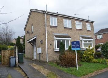 Thumbnail 2 bed semi-detached house for sale in Ferndale Drive, Bramley, Rotherham