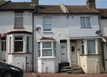 Thumbnail 2 bed terraced house to rent in Castle Road, Chatham, Kent