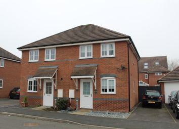Thumbnail 2 bed semi-detached house for sale in Red Deer Road, Shrewsbury