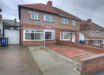 Thumbnail 3 bedroom semi-detached house for sale in Benwell Grange Avenue, Benwell, Newcastle Upon Tyne