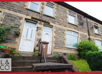 Thumbnail 3 bed terraced house to rent in Islwyn Road, Wattsville, Crosskeys, Newport